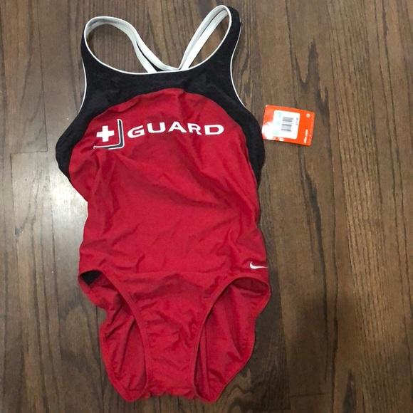 f735d45b07b6 NWT lifeguard swimsuit one piece. NWT. Nike